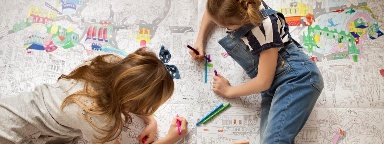 Zábavní omalovánky pro děti | Coloreo